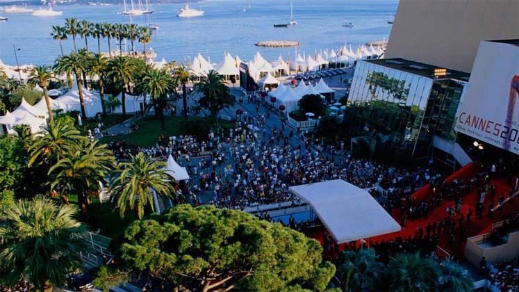 Le Palais des festivals de Canne