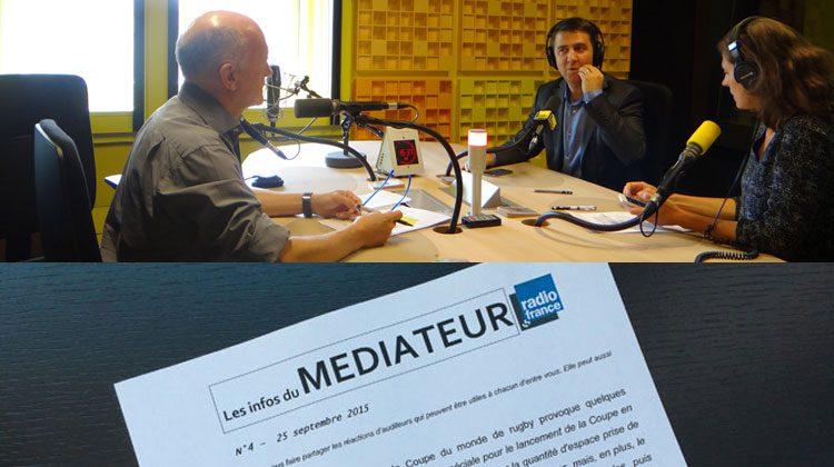 studio France Info/lettre du Médiateur