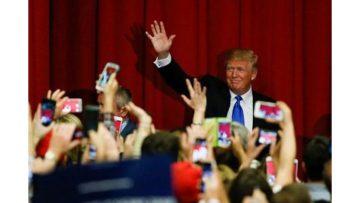 Pendant la campagne....• Crédits : EDUARDO MUNOZ ALVAREZ / AFP