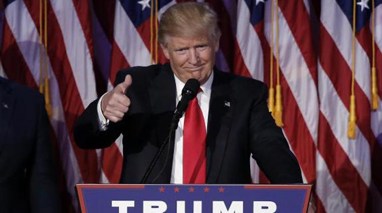 Donald Trump, le nouveau président américain, à New York, le 9 novembre 2016. (MIKE SEGAR / REUTERS)