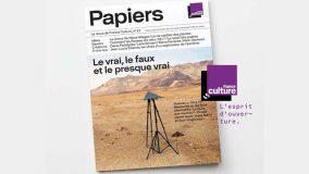 La revue de France Culture fait peau neuve et devient «Papiers»
