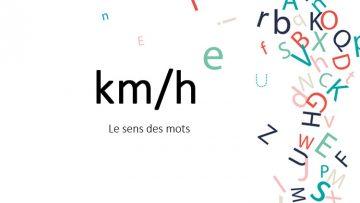 km-heure