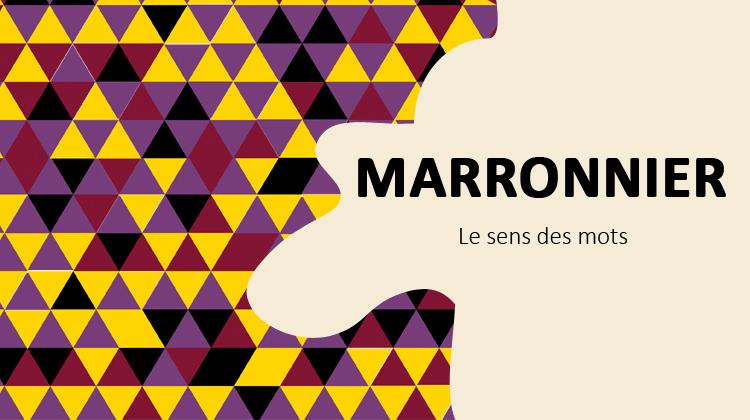 marronnier
