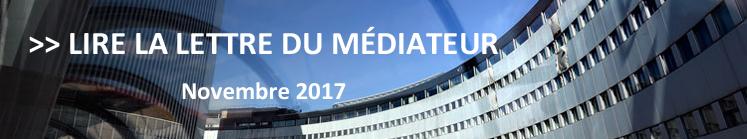 lettre, mediateur, novembre, auditeurs, radio france