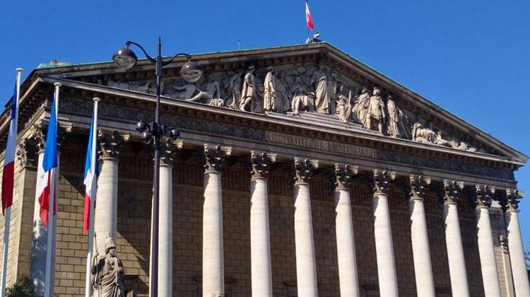 Le palais Bourbon• Crédits : Sophie Delpont - Radio France
