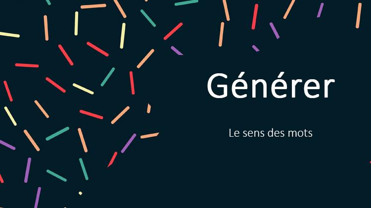 generer