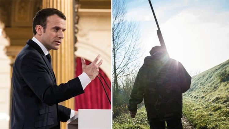 Emmanuel Macron part à la conquête des chasseurs © AFP / GUILLAUME SOUVANT / Etienne LAURENT POOL