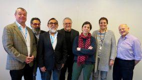 Nicolas Jacobs (FTV)/Jean-Pierre Constantin (France Médias Monde) /Gora Patel (FTV)/ Guy Gendron (Radio Canada)/ Louise Monaux (RTBF) /Raymonde Richter (RTS)/ Bruno denaes (Radio France)