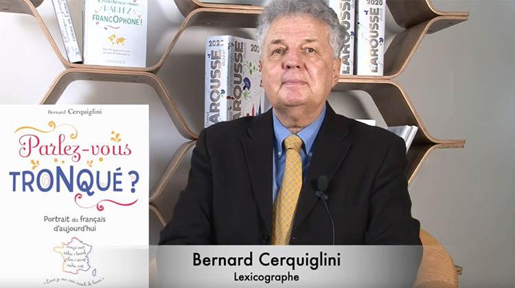 L Art De Parler Tronque Par Bernard Cerquiglini